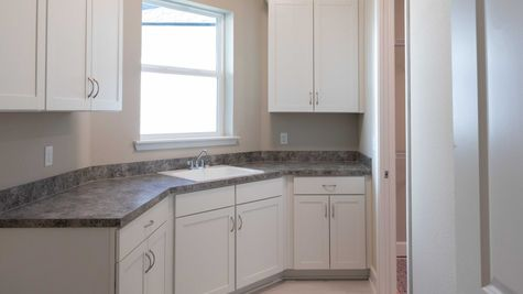 The Ellaville at Heritage Trace Lot 243 Laundry Room