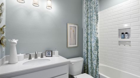 Jackson Model Home - Bathroom 2