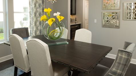 The Lafayette Model at Greenleaf Lakes Dining Room
