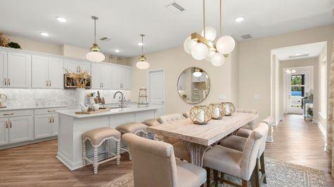 Jackson Model Home - Café