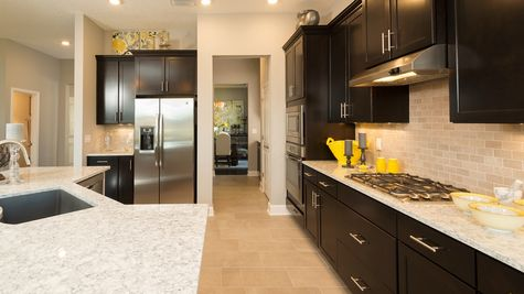 The Lafayette Model at Greenleaf Lakes Kitchen