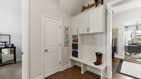 Ellaville Model - Mudroom Cabinets