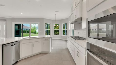 The Lafayette at The Colony Lot 247 Kitchen