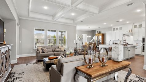 Collier Model - Family Room 1