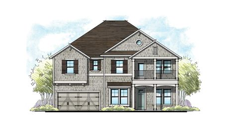 The Alexander at Crosswater Shingle Elevation 6