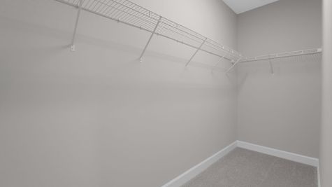 The Alexander at Freedom Landing Lot 133 Bedroom 3 Closet