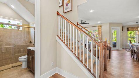 Manatee Model - Foyer Stairs