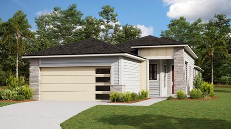 The Holton Modern Prairie Elevation 8
