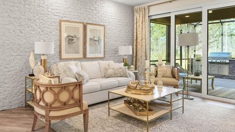 Jackson Model Home - Family Room 3