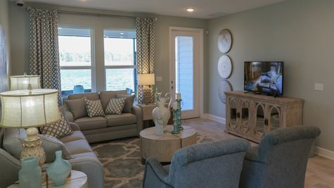 The Hernando Model at Liberty Cove Family Room