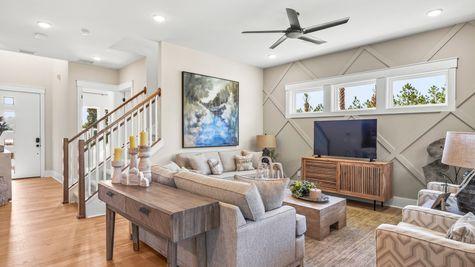Manatee Model - Family Room