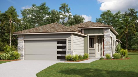 The Holton Modern Prairie Elevation 6