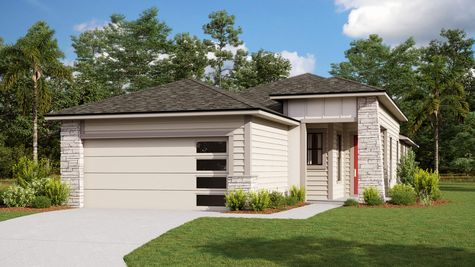 The Holton Modern Prairie Elevation 2