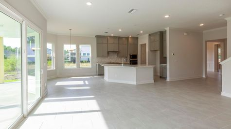 The Lafayette at Heritage Trace Lot 314 Kitchen