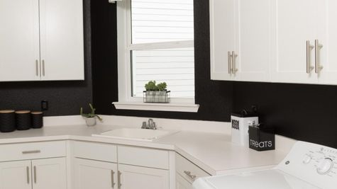 The Ellaville Model Home - Laundry Room