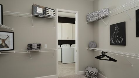 The Ellaville Model Home - Owners Closet