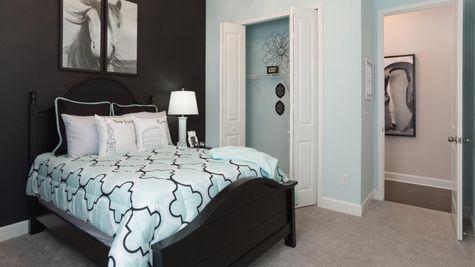 The Ellaville Model Home - Bedroom 3