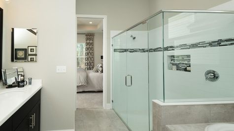 The Ellaville Model Home - Owners Bath