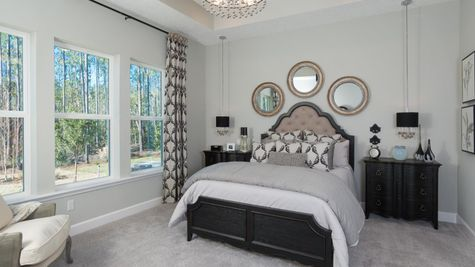 The Ellaville Model Home - Owners Suite