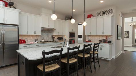 The Ellaville Model Home - Kitchen
