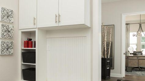 The Ellaville Model Home - Mudroom