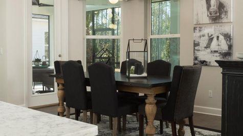 The Ellaville Model Home - Cafe