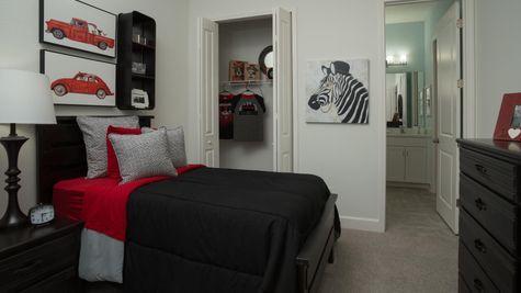 The Ellaville Model Home - Bedroom 4 - Bath 3