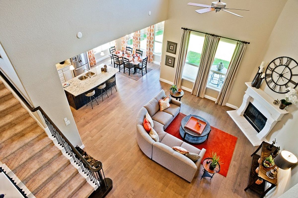 Enjoy the Benefits of Open Floor Plans with Rendition Homes