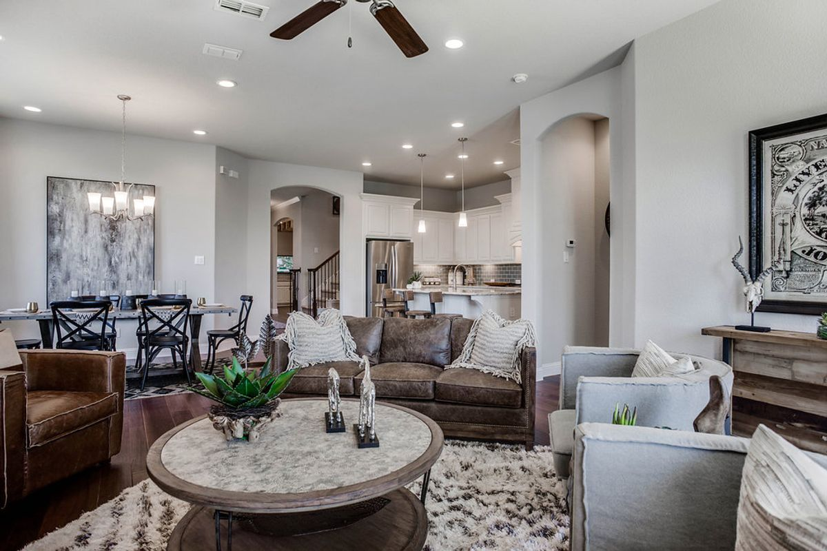 Rendition Homes: New Homes in Dallas-Fort Worth Have Modern Floor Plans
