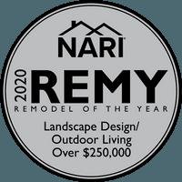 2020 KC NARI Remodel of the Year - Landscape Design/Outdoor Living Over $250,000 Gold Award