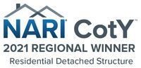 2021 KC NARI Contractor of the Year - Region 3 North Central - Residential Detached Structure Regional Award