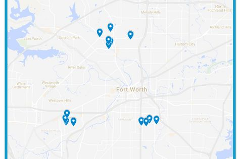 Additional Tarrant County Locations