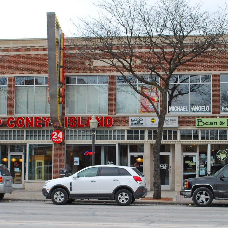 Various businesses in Royal Oak, MI representing the unique features of the city shared by Robertson Homes in Michigan