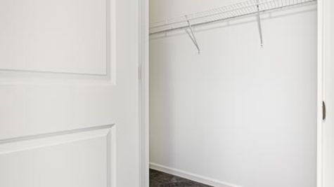 Oak Walk In Closet