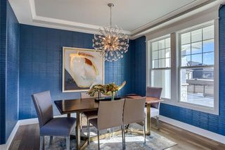 The Irving 2 Story. Formal Dining Room. Pictures are of Model, Not Actual Home. Pictures May Feature Upgrades. Please Contact Listing Agent for Stage of Construction, Upgrades, and Available Buyer Selections.