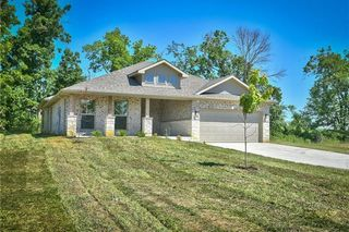 Front Elevation. The Sophia Ranch. 4 Sides of Brick! Picture is of Actual Home.