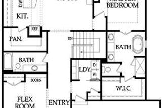 Larkspur Main Floor Plan
