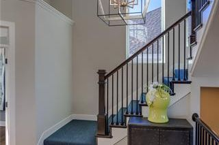 The Irving 2 Story. Stair Case. Pictures are of Model, Not Actual Home. Pictures May Feature Upgrades. Please Contact Listing Agent for Stage of Construction, Upgrades, and Available Buyer Selections.