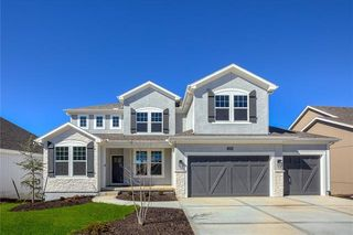 """The Irving 2 Story. Elevation """"C"""" will be built on Lot 218 - 24604 W 126th Ter. This Picture is of the Model, Not Actual Home. Pictures May Feature Upgrades. Please Contact Listing Agent for Stage of Construction, Upgrades, and Available Buyer Selections."""