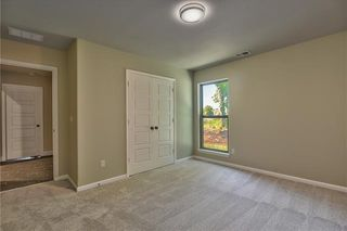 Bedroom 3. Picture is of Actual Home. (Bedroom 2 is the room across the Hall)