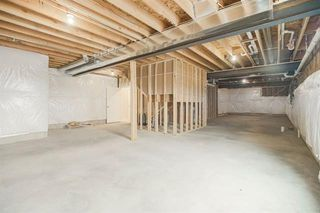 unfinished space perfect for storage