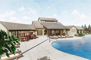 Mission Ranch planned community pool.