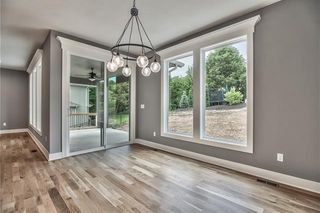 Dining Room with Access to Covered Patio.