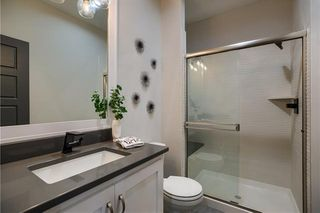 The New Haven 1.5 Story. Main Floor Bathroom. Pictures are of Previous Model, Not Actual Home. Pictures May Feature Upgrades. Please Contact Listing Agent for Stage of Construction, Upgrades, and Available Buyer Selections.