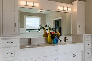 The New Haven 1.5 Story. Master Vanities. Pictures are of Previous Model, Not Actual Home. Pictures May Feature Upgrades. Please Contact Listing Agent for Stage of Construction, Upgrades, and Available Buyer Selections.