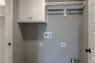 The Irving 2 Story. Laundry Room accessible from Master Closet and Hallway to Secondary Bedrooms. Pictures are of Model, Not Actual Home. Pictures May Feature Upgrades. Please Contact Listing Agent for Stage of Construction, Upgrades, and Available Buyer Selections.