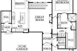 """The Karmon II"" Main Level Floor Plan"