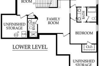 """The Karmon II"" Lower Level Floor Plan"