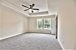 Master Bedroom with Tray Vault Ceiling