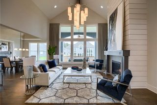 The New Haven 1.5 Story. Great Room. Pictures are of Previous Model, Not Actual Home. Pictures May Feature Upgrades. Please Contact Listing Agent for Stage of Construction, Upgrades, and Available Buyer Selections.